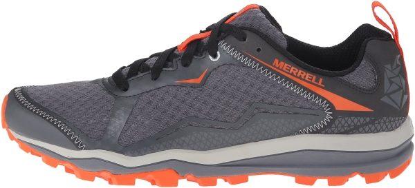 Merrell All Out Crush Light men grey/orange