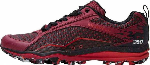Merrell All Out Crush Tough Mudder Red