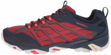 Merrell Moab FST Navy/Dark Red Men
