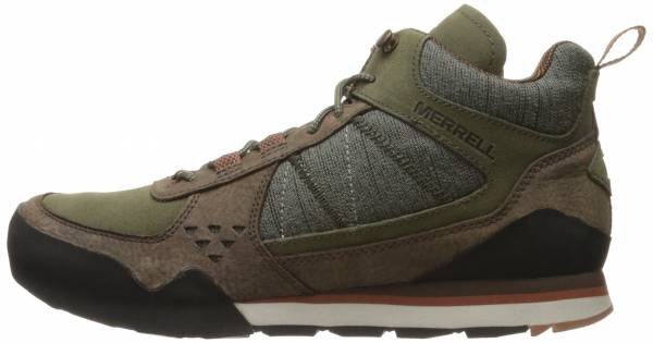 Merrell Burnt Rock Mid Green