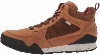 Merrell Burnt Rock Mid Waterproof - Brown