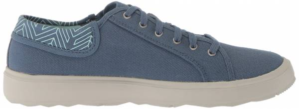Merrell Around Town City Lace Canvas  Bering Sea