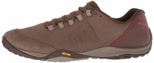 Merrell Mens Parkway Emboss Lace Walking Shoe Brown Sports Outdoors Breathable