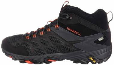 Merrell Moab FST 2 Mid Waterproof Black/Granite Men
