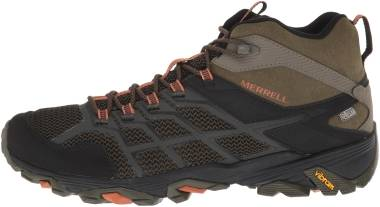 Merrell Moab FST 2 Mid Waterproof - Olive/Adobe (J77515)