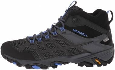 Merrell Moab FST 2 Mid Waterproof Black/Granite Women