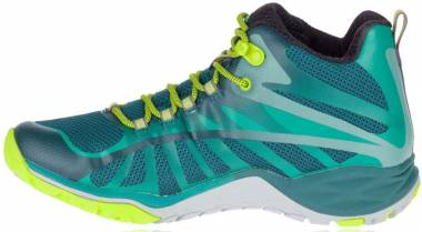 Merrell Siren Edge Q2 Mid Waterproof - Green Jungle