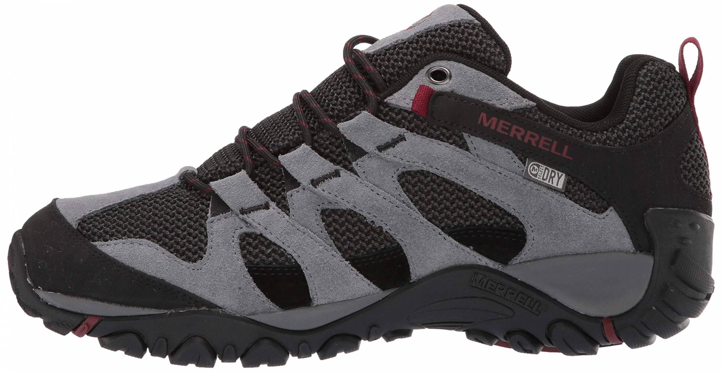 merrell waterproof mens shoes