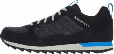 Merrell Alpine Sneaker - Black Ripstop (J62449)