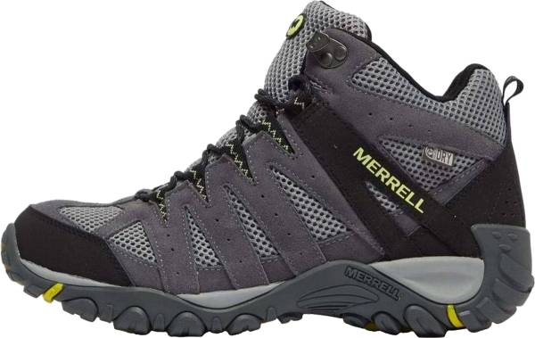 Merrell Accentor 2 Vent Mid - Black Gray Yellow (J50841)