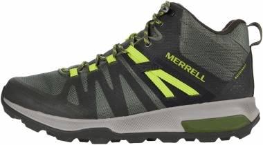 Merrell Zion FST Mid Waterproof - Olive/Gecko (J03534)
