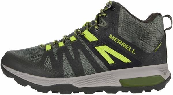 Merrell Zion FST Mid Waterproof - Storm/Cobalt (J03534)