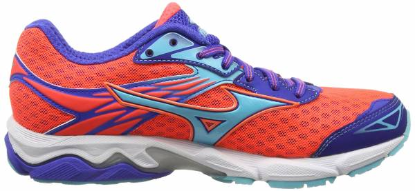 Mizuno Wave Catalyst woman fiery coral / capri / blue