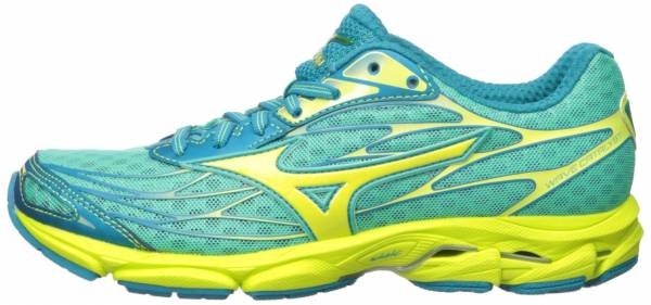 Mizuno Wave Catalyst woman electric green-yellow