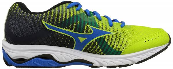 Mizuno Wave Elevation Limepunch/Electricbluelemonade/Black