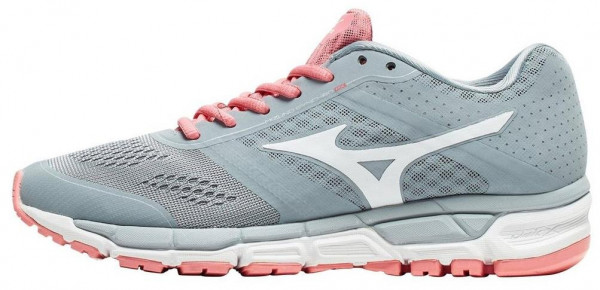 Mizuno Synchro MX woman grey (quarry/white/strawberry pink)