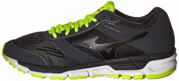 Mizuno Synchro MX men grau (darkshadow/noir/safetyyellow)