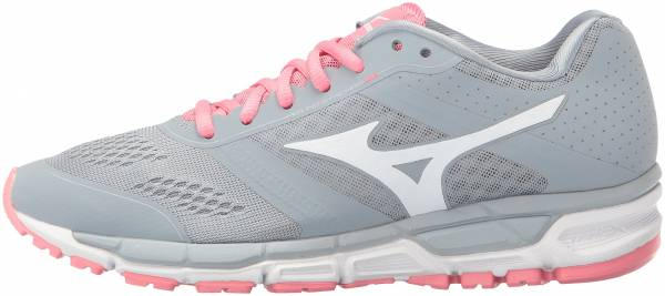 Mizuno Synchro MX woman quarry/whit-strawberry pink