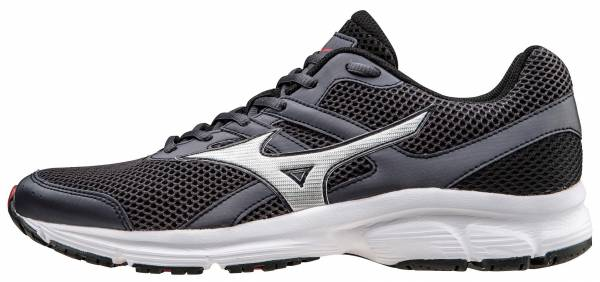 Mizuno Spark Grey (Periscope/Silver/High Risk Red)