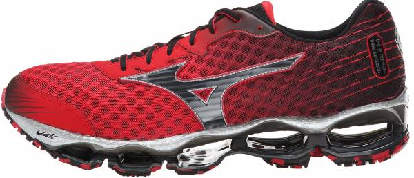 Mizuno Wave Prophecy 4 - Shiny Red / Black