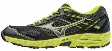 Mizuno Wave Kien 3 - Black Black Dark Shadow Safety Yellow (J1GJ167303)