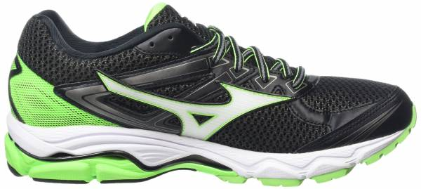 Mizuno Wave Ultima 8 men black (black/white/green gecko)