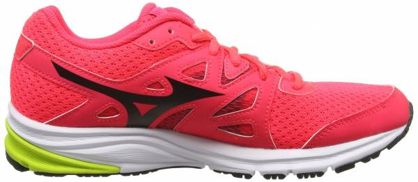 Mizuno Synchro MD Pink (Diva Pink/Black/Safety Yellow)