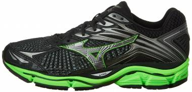 Mizuno Wave Enigma 6 - Black / Green Gecko/ Dark Shadow