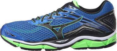 Mizuno Wave Enigma 6 - Skydiver/Black/Green Gecko (J1GC161109)