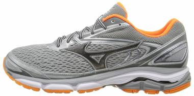 Mizuno Wave Inspire 13 Grey/Clownfish Men