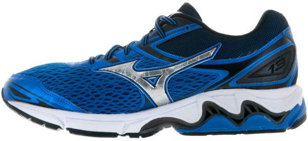 sports shoes 22bcd ea935 Mizuno Wave Inspire 13 Silver True Blue Black