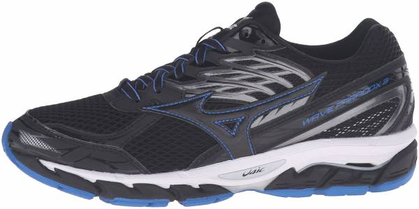 Mizuno Wave Paradox 3 men black/skydiver/white
