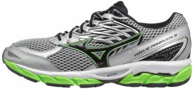 Mizuno Wave Paradox 3 Grey/Green Men