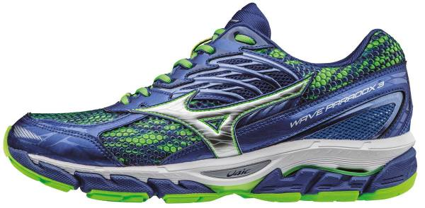 Mizuno Wave Paradox 3 men silver / green