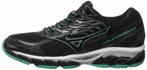 Mizuno Wave Paradox 3 woman black-electric green
