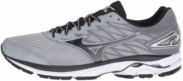 Mizuno Wave Rider 20 Light Grey/Black