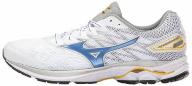 Mizuno Wave Rider 20 - White Strong Blue