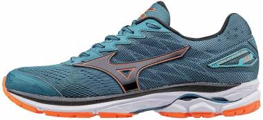 Mizuno Wave Rider 20 - Blue Coral/Black/Clownfish (4108655F90)