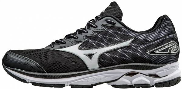 Mizuno Wave Rider 20 men black/white