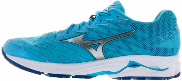 Mizuno Wave Rider 20 woman blue atoll/silver/white