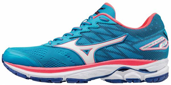 Mizuno Wave Rider 20 woman blue / white / pink