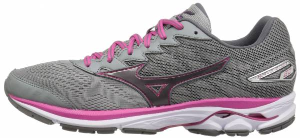 Mizuno Wave Rider 20 woman griffin/fuchsia purple/white