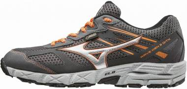 Mizuno Wave Kien 3 GTX - Gris Dark Shadow Silver Clownfish