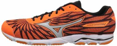 Mizuno Wave Hitogami 4 - Orange / Silver / Dark Grey (4108822091)