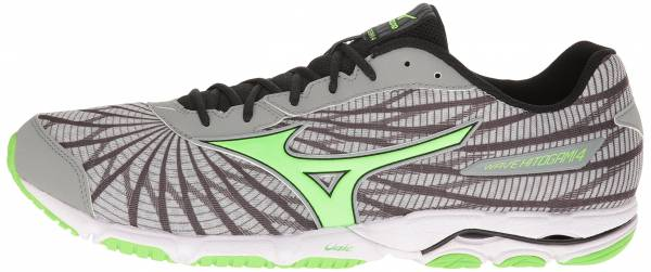 Mizuno Wave Hitogami 4 men high rise/green gecko/dark shadow