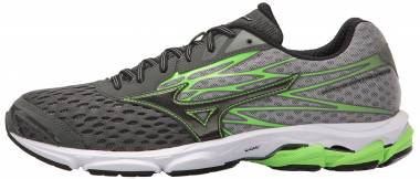 Mizuno Wave Catalyst 2 Charcoal/Green Flash Men