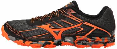 Mizuno Wave Hayate 3 Dark Shadow/Clownfish Men
