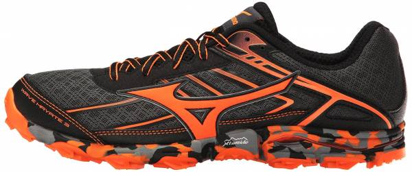Mizuno Wave Hayate 3 Dark Shadow/Clownfish