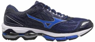 new arrival 3e632 b250d Mizuno Wave Creation 19 Blue Depths Peacoat Men