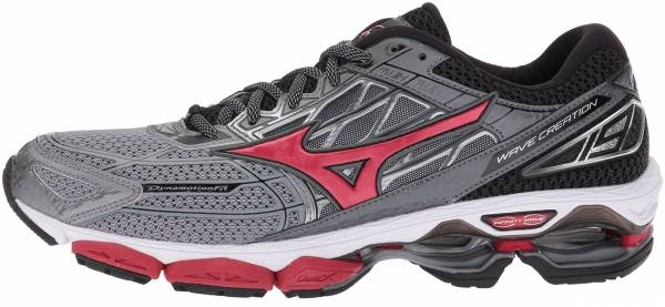 low priced 58f68 8b64c Mizuno Wave Creation 19 Griffin True Red Black